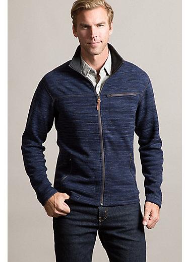 Boreas Space-Dyed Wool-Blend Fleece Jacket