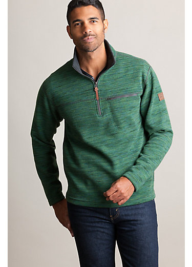 Boreas Italian Wool-Blend Fleece Pullover