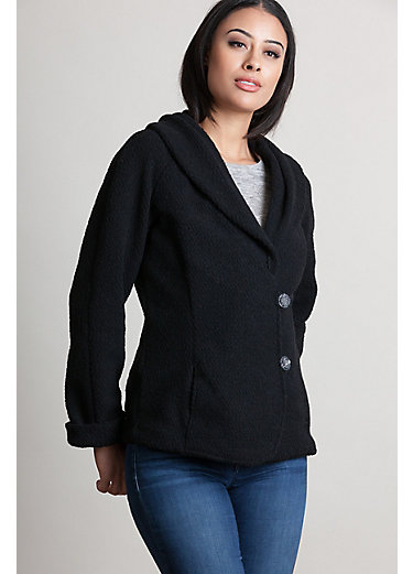 Gia Alpaca Wool-Blend Boucle Jacket