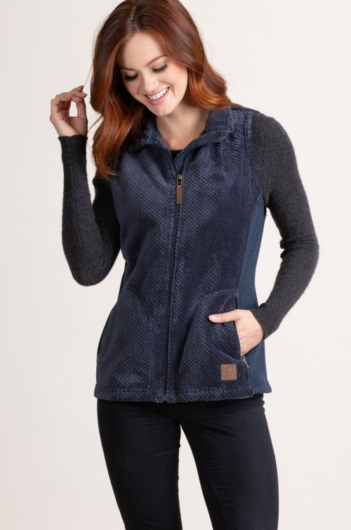Bora Italian Fleece Vest