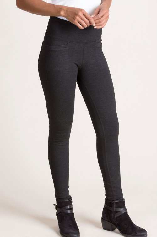 4-Pocket Stretch Ponte Leggings