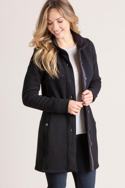 Audrey Italian Wool-Blend Coat