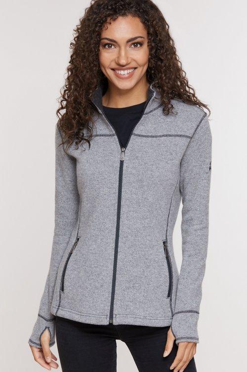 Eva Wool-Blend Fleece Jacket