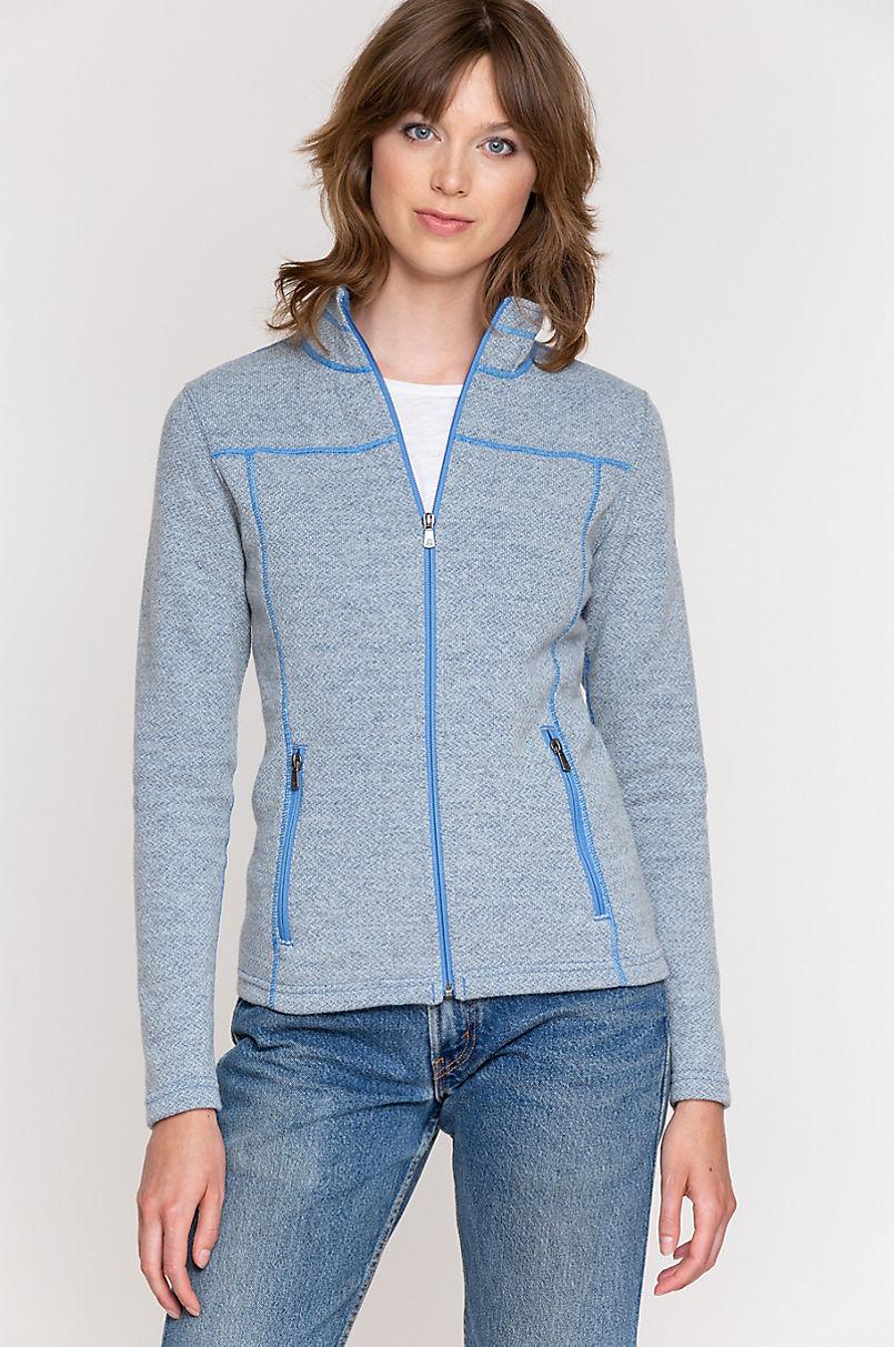 Hadley Italian Wool-Blend Fleece Jacket