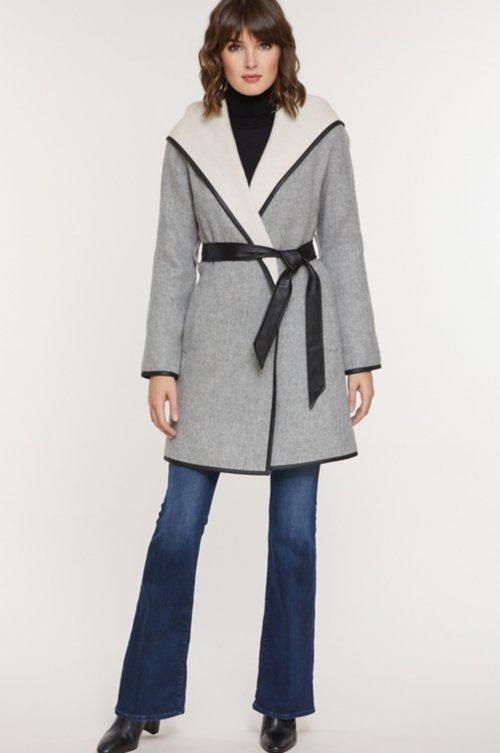 Annette Peruvian Alpaca Wool Coat