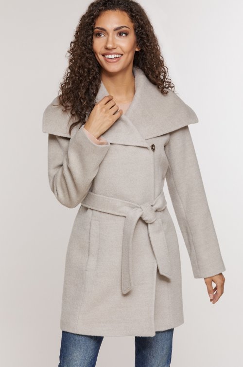 Bianca Peruvian Alpaca Wool-Blend Coat