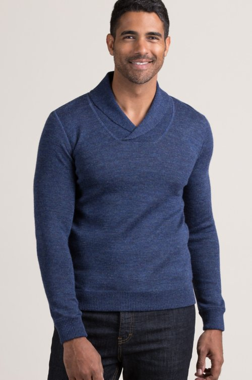 Gavin Alpaca Wool-Blend Pullover Sweater