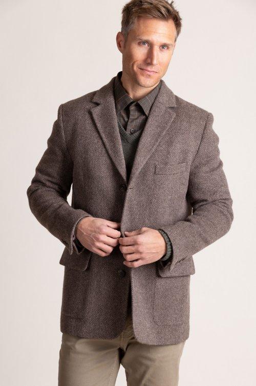 Beckett Peruvian Alpaca Wool Blazer