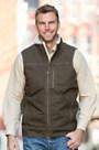 Kuhl Burr Canvas Vest with Berber Fleece Trim