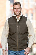 Kuhl Burr Canvas Vest with Berber Fleece Trim