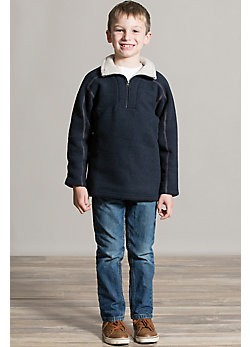 Boys Kuhl Europa 1/4-Zip Fleece Pullover