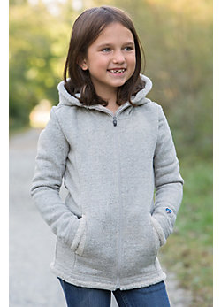Girls Kuhl Apres Hooded Fleece Jacket