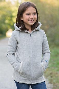 Girls Kuhl Apres Hooded Fleece Jacket