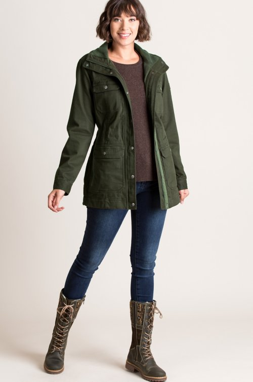 Leigh Cotton-Blend Jacket