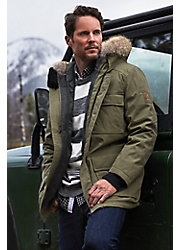 Bridger Waterproof Insulated Parka with Coyote Fur Trim