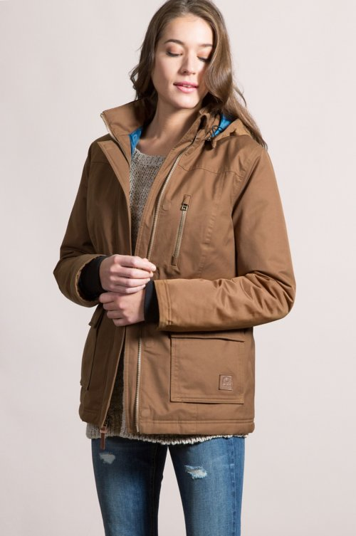 Chelan Waterproof Insulated Parka with Detachable Hood