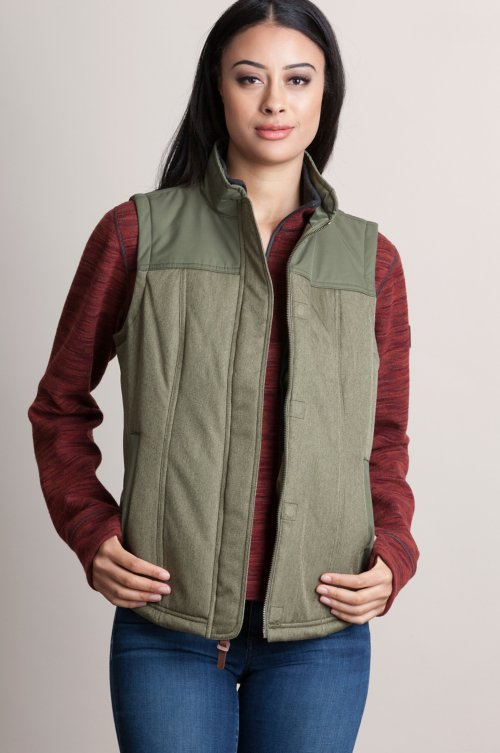 Albion Herringbone Insulated Vest
