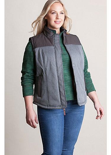 Albion Herringbone Insulated Vest - Plus (18-24)