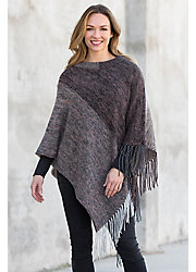 Roxanne Merino Wool and Cashmere Poncho