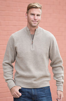 Alashan Frank Merino Wool & Cashmere Pullover Sweater