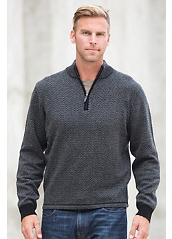 Alashan Oscar Merino Wool & Cashmere Pullover Sweater