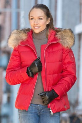 M. Miller Elise Parka with Raccoon Fur Trim