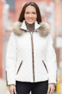 M. Miller Katya Ski Jacket with Raccoon Fur Trim