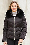M. Miller Lexa Down Jacket with Fox Fur Trim