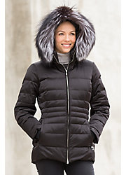 M. Miller Giselle Down Parka with Fox Fur Trim