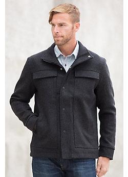 Ibex Heritage Merino Wool-Blend Jacket