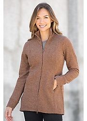 Ibex Reese Merino Wool Sweater Jacket