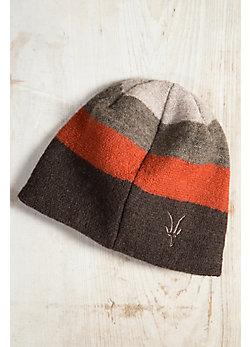 Ibex Quad Loden and Merino Wool Beanie Hat