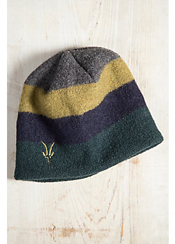 Ibex Quad Loden and Merino Wool Beanie Hat