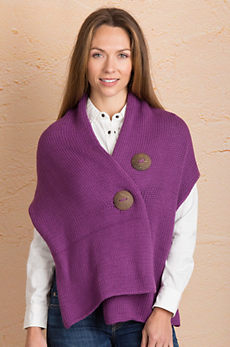 Cotton Button Wrap