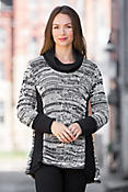 Pure Handknit Adventurous Cotton Turtleneck Sweater