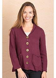 Hannah Cotton Cardigan Sweater