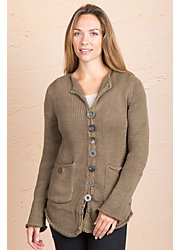Aria Cotton Cardigan Sweater