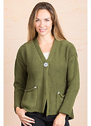 Emma Cotton Cardigan Sweater