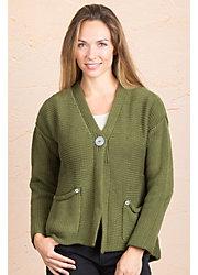 Emma Cotton Cardigan Sweater