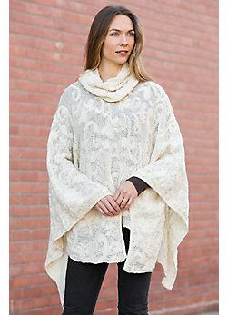 Abilene Alpaca Wool Poncho