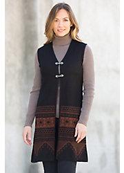 Willow Peruvian Alpaca Wool Vest