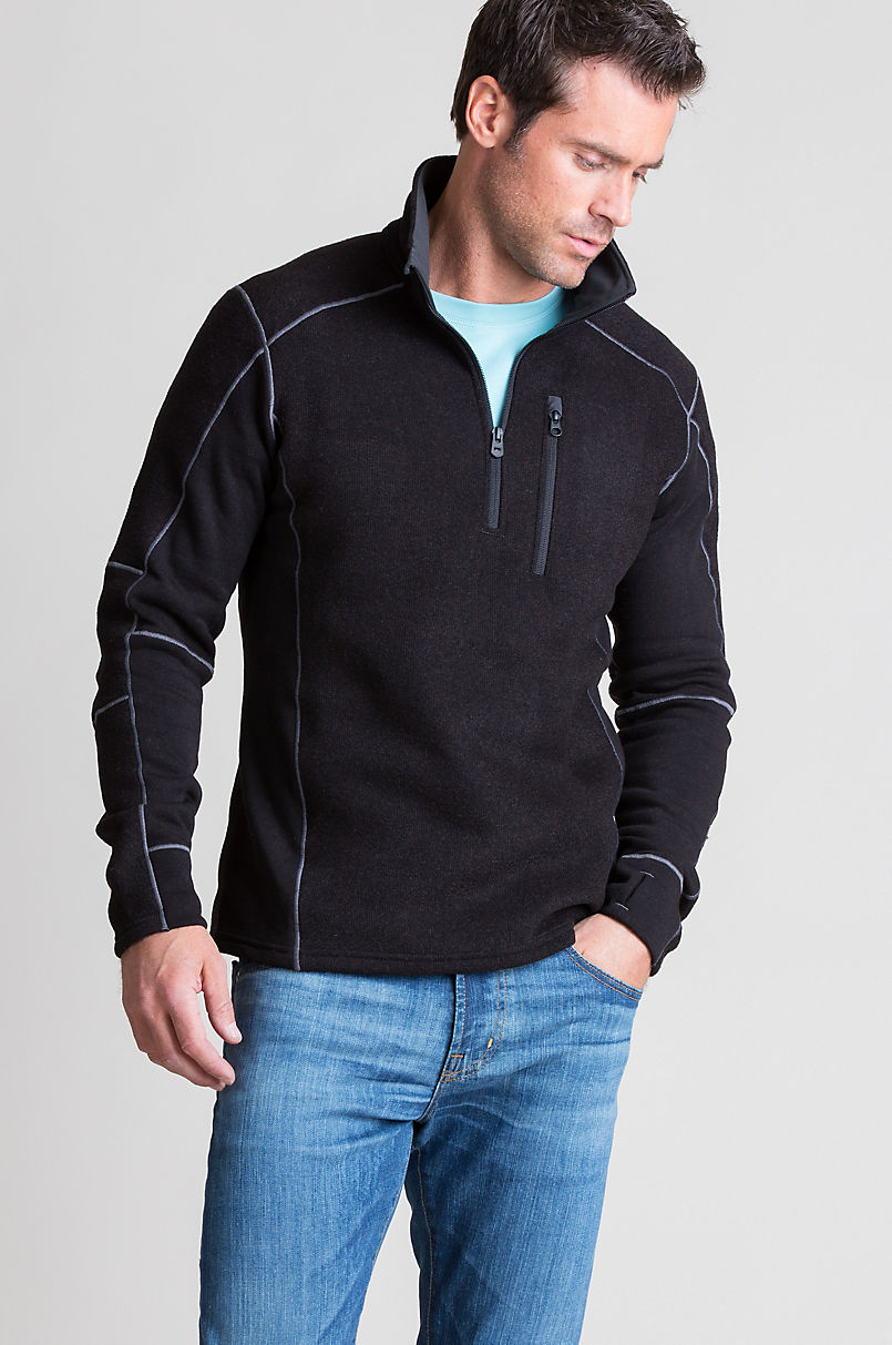 7365bf4758b Kuhl Interceptr 1 4-Zip Fleece Pullover
