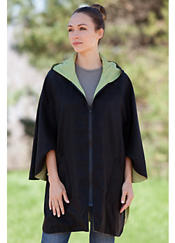 Janska Patty Reversible Lightweight Poncho