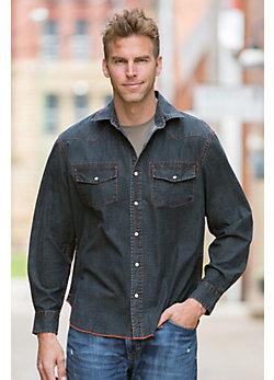 Axtell Chambray Cotton Shirt