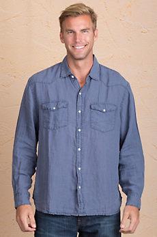 Ralph Western Linen Shirt