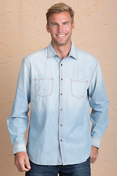 Willie Chambray Cotton Shirt