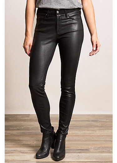 Leather Stretch Leggings