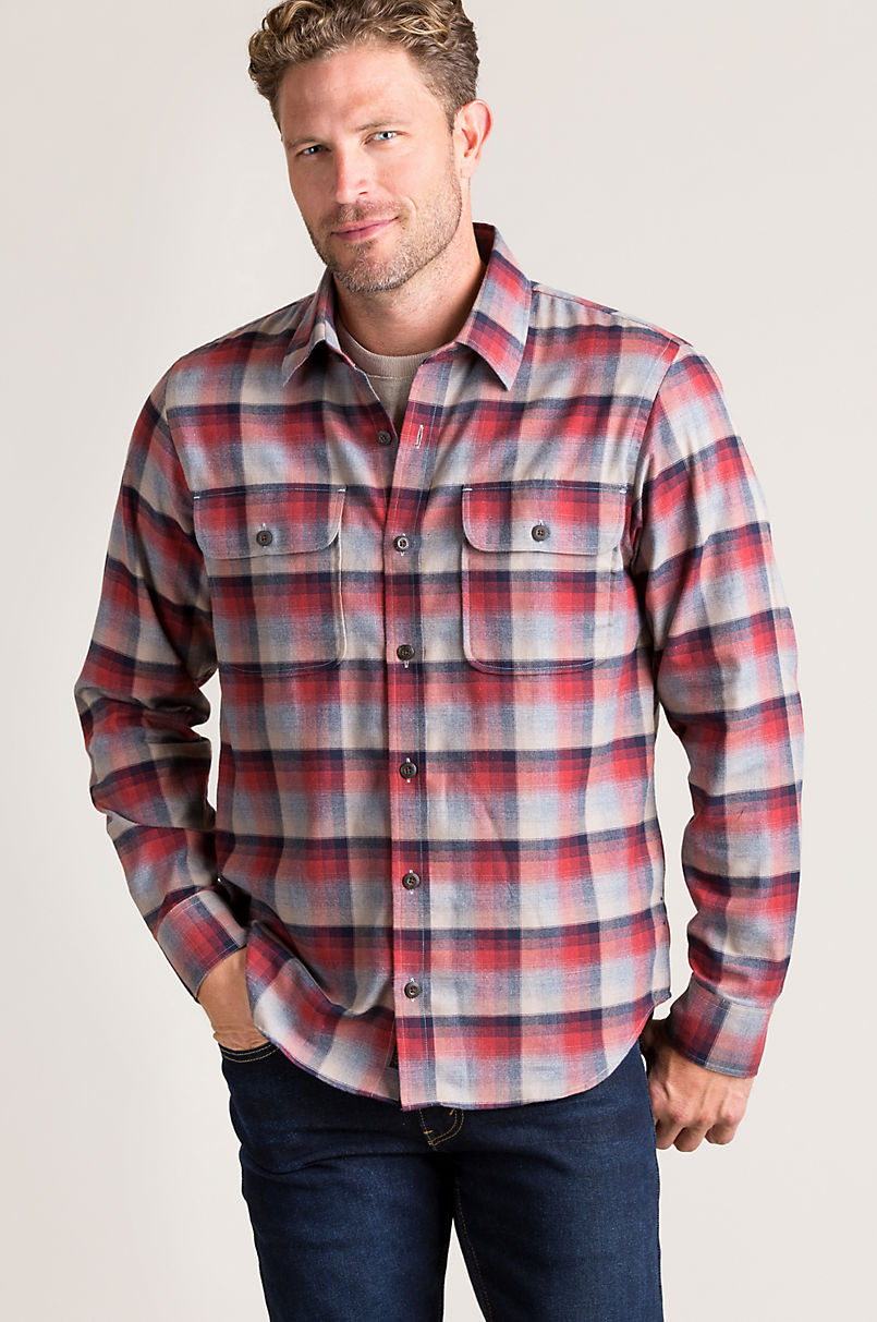 Overland Kenton Plaid Cotton Shirt