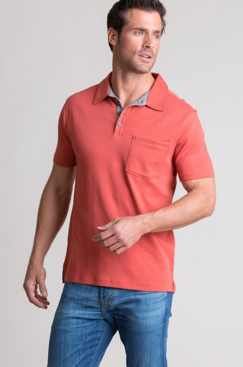 Peruvian Pima Cotton Polo Shirt