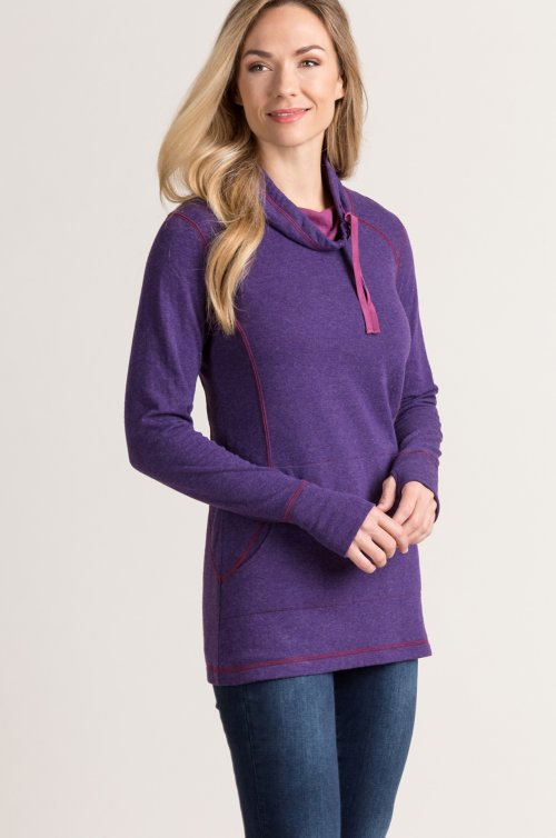 Emily Cotton-Blend Pullover Shirt